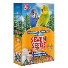7 семян Корм для волнистых попугаев с витаминами и минералами 500 г