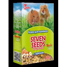 7 семян Корм для хомяков с орехами 500 г