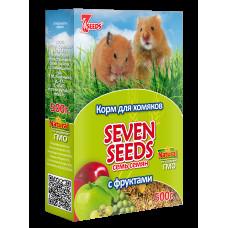 7 семян Корм для хомяков с фруктами 500 г