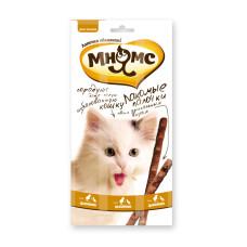 Мнямс Pro Pet лакомые палочки для кошек с цыпленком и уткой 13.5 см