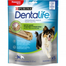 Про План Dentalife Палочки для собак Средних пород Ежедневный уход за полостью рта 115 г