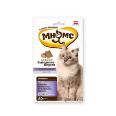 Мнямс Pro Petl Хрустящие подушечки для кошек с говядиной Выведение шерсти, 60 г