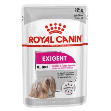 Роял Канин Exigent Корм для взрослых собак, привередливых в питании (паштет) 85 г