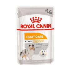 Роял Канин Coat Care Корм для взрослых собак Поддержание здоровья и блеска шерсти (паштет) 85 г