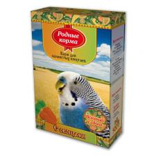 Родные корма Корм для волнистых попугаев с овощами 500 г