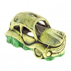 К-02з ГротАква Грот Машина малая зелёная, 19*10*9 см