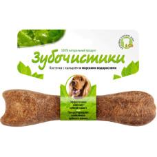 Зубочистики Косточка для собак средних пород с кальцием со вкусом морских водорослей  95 г