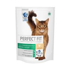 Перфект Фит для кастрированных котов и стерилизованных кошек с курицей, 650 г