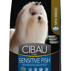 65300 FARMINA Cibau Sensitive Fish Mini Корм для собак Мини пород с Рыбой, ФАСОВКА 1 кг