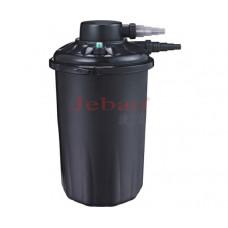 JEBAO Фильтр прудовый напорный PF-30E на пруд 13000 л, объём фильтра 30 л, UV 18 вт