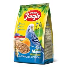 Happy Jungle Корм для волнистых попугаев, 500 г