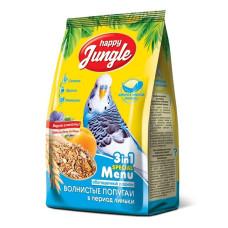 Happy Jungle Корм для волнистых попугаев при линьке, 500 г