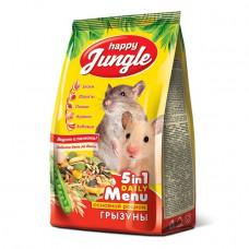 Happy Jungle Корм для грызунов, Универсал, 350 г
