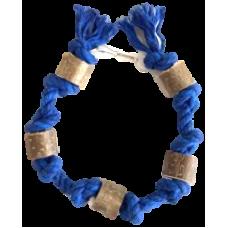 5162 Игрушка для птиц Гирлянда синяя, 45 см