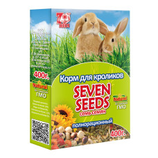7 семян Корм для кроликов 400 г