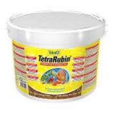 Корм для рыб TetraRubin хлопья для окраса 10 л