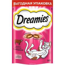 Лакомство DREAMIES для кошек с говядиной 140 г