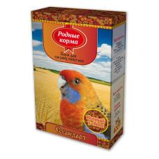 Родные корма Корм для средних  попугаев Стандарт 400 г