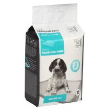 M-Pets Puppi Training Pads Пелёнки  впитывающие с Липкой лентой для животных, 60*60 см, 1 шт