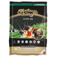 DENNERLE Грунт для успешного содержания и разведения креветок SHRIMP KING ACTIVE SOIL, 8л