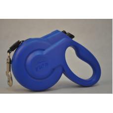 5135549 Fida Styleash Стильная рулетка с выдвижным шнуром для собак мелких пород до12 кг голубая, 3м