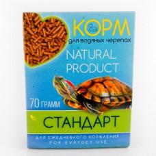 Аквакулинар Корм Стандарт для водяных черепах, 70 г