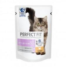 Перфект Фит для котят 1 до 2 месяцев с курицей 85 г